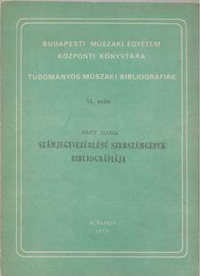 Nagy Ilona - Számjegyvezérlésü szerszámgépek bibliográfiája [antikvár]