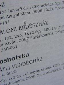 Fecske Csaba - Természetbarát Híradó 1998. július-augusztus [antikvár]