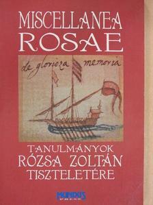 Bánki Éva - Miscellanea Rosae [antikvár]