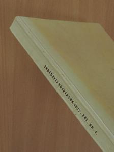 Bürgés György - Erdészeti kutatások 1972/I. [antikvár]