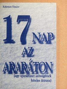 Kelemen Sándor - 17 nap az Araráton [antikvár]