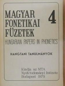 Bolla Kálmán - Hangtani tanulmányok [antikvár]
