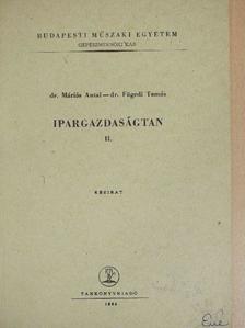 Dr. Fügedi Tamás - Ipargazdaságtan II. [antikvár]