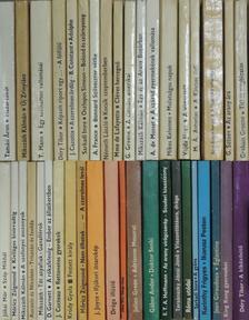 """Alfred de Musset - """"40 kötet az Olcsó könyvtár sorozatból (nem teljes sorozat)"""" [antikvár]"""