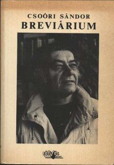 Csoóri Sándor - Breviárium [antikvár]