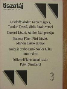 Balassa Péter - Tiszatáj 2000. március [antikvár]