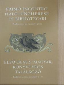 Angela Dillon Bussi - Első olasz-magyar könyvtáros találkozó [antikvár]