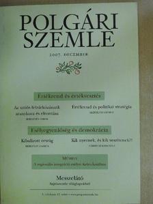 Bereznay András - Polgári Szemle 2007/12. [antikvár]