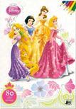Disney Hercegnők - 80 oldal szórakozás