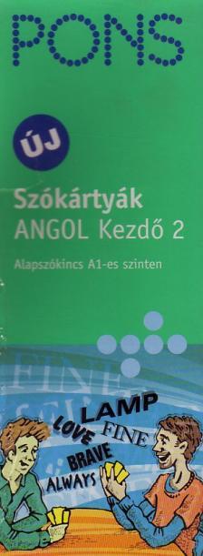 Pons - SZÓKÁRTYÁK - ANGOL KEZDŐ 2. - PONS-