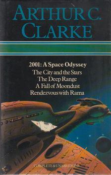 Arthur C. Clarke - 2001: A Space Odyssey / The City and the Stars / The Deep Range / A Fall of Moondust / Rendezvous With Rama [antikvár]