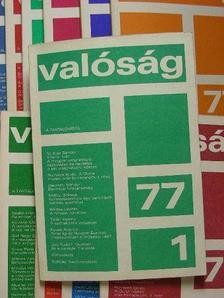 A. D. Svejcer - Valóság 1977. január-december [antikvár]