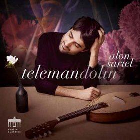 TELEMANN,BACH, - TELEMANDOLIN CD SARIEL