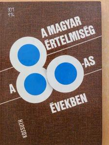 Angelusz Róbert - A magyar értelmiség a 80-as években [antikvár]