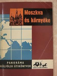 Kiss Csaba - Moszkva és környéke [antikvár]