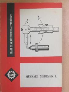 Fábián Tibor - Műszaki mérések I.  [antikvár]