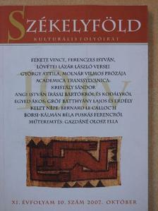 Angi István - Székelyföld 2007. október [antikvár]