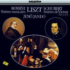 LISZT, ROSSINI, SCHUBERT - SOIRÉES MUSICALES, SOIRÉES DE VIENNE CD JANDÓ