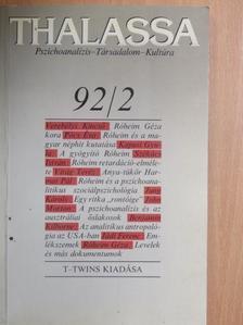 Benjamin Kilborne - Thalassa 1992/2 [antikvár]