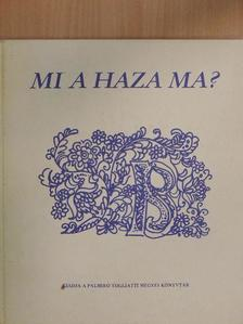Acélosné Solymár Magdolna - Mi a haza ma? [antikvár]