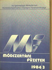 Dr. Boros János - Módszertani füzetek 1984/3. [antikvár]