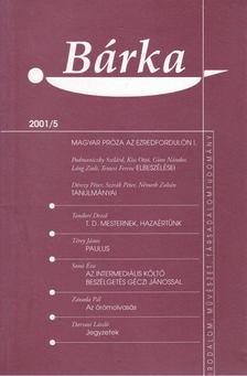 Elek Tibor - Bárka 2001/5 [antikvár]