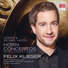 MOZART - HORN CONCERTOS CD KLIESER