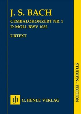 J. S. Bach - CEMBALOKONZERT NR.1 D-MOLL BWV 1052, STUDIEN EDITION