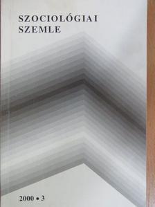 Erdei Itala - Szociológiai szemle 2000/3. [antikvár]