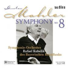 MAHLER - SYMPHONY NO 8 CD