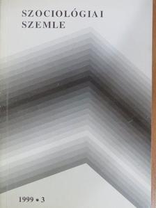 Balog Iván - Szociológiai szemle 1999/3. [antikvár]