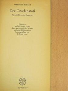 Ambrose Bierce - Der Gnadenstoß [antikvár]