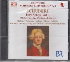 SCHUBERT - PART-SONGS VOL.1.CD