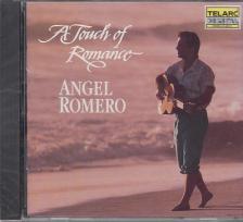 SANZ, BARRIOS, CELEDONIO ROMERO, ALBÉNIZ - A TOUCH OF ROMANCE CD ANGEL ROMERO