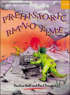 HALL, PAULINE - PREHISTORIC PIANO TIME - 20 PREHISTORIC PIECES AND PUZZLES