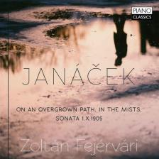 JANÁCEK - ON AN OVERGROWN PATH CD FEJÉRVÁRI