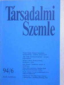 Ágh Attila - Társadalmi Szemle 1994. június [antikvár]