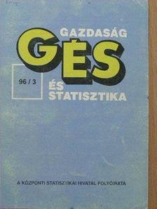 Dr. Takács József - Gazdaság és statisztika (GÉS) 1996. június [antikvár]