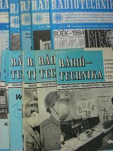 Bassó Andor - Rádiótechnika 1979., 1984., 1990. (vegyes számok) [antikvár]