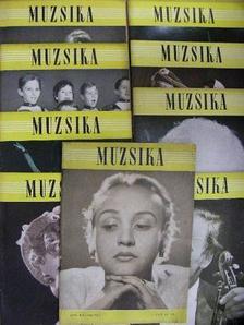 Asztalos Sándor - Muzsika 1958. (nem teljes évfolyam) [antikvár]