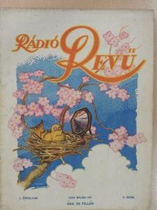 Kardos István - Rádió Revű 1930. május [antikvár]