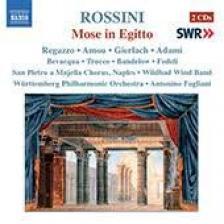 ROSSINI - MOSE IN EGITTO 2CD FOGLIANI, REGAZZO, AMOU, GIERLACH, ADAMI, BEVACQUA