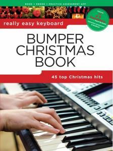 BUMPER CHRESTMAS BOOK. REALLY EASY KEYBOARD