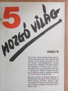 Baló György - Mozgó Világ 1993. május [antikvár]