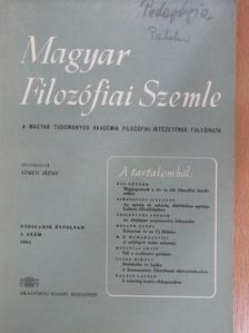 Bert Brecht - Magyar Filozófiai Szemle 1964/3. [antikvár]