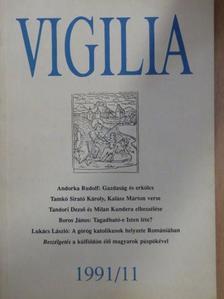 Adam Zagajewski - Vigilia 1991. november [antikvár]