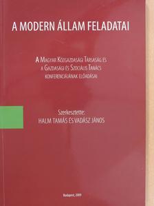 Kovács Árpád - A modern állam feladatai (dedikált példány) [antikvár]