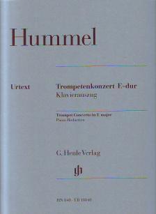 HUMMEL - TROMPETENKONZERT E-DUR (ES-DUR) KLAVIERAUSZUG URTEXT (MICHAEL KUBE)
