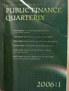 Ádám Török-Balázs - Pénzügyi szemle/Public Finance Quarterly 2006/1. [antikvár]