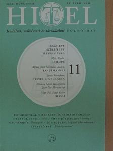 Ágh István - Hitel 2002. november [antikvár]